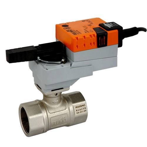 Електроприводи для кульових клапанів